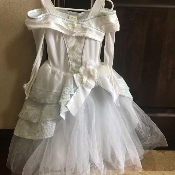 Disney Other - Disney store Cinderella deluxe wedding dress 5/6